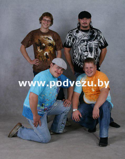 Группа Тяни-Толкай и футболки Liquid Blue