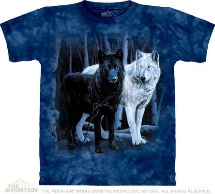 Футболка Black White Wolfs (101106)