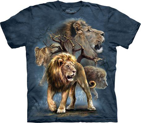 Футболка Lion Collage (153316)