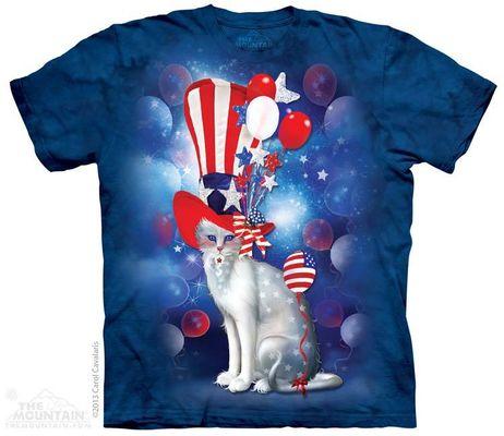 Майка Patriotic Cat Hatter (103511)