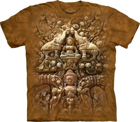 3D Майка Buddha Wall (103721)