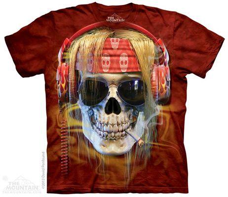 Футболка The Mountain Rocker Skull (103868)
