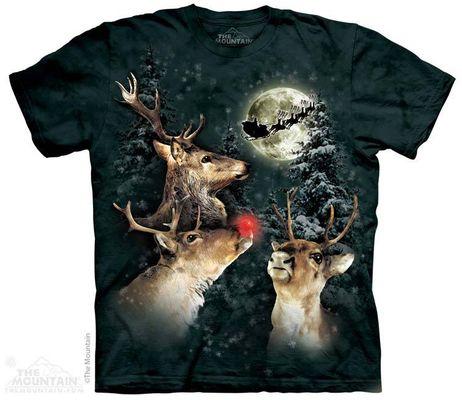 Футболка The Mountain Three Reindeer Moon (108398)