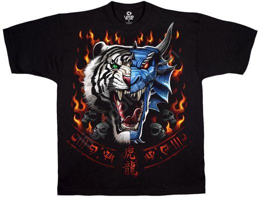 Футболка Tiger Dragon Face (11786)