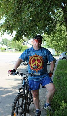 Алекс из Витебска  в футболке Mountain