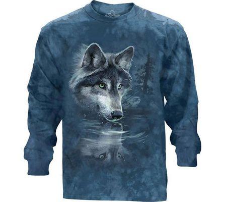 Лонгслив  Wolf Reflection (451850)